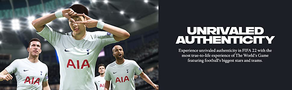 FIFA 22 Unrivaled Authenticity Banner Image 3