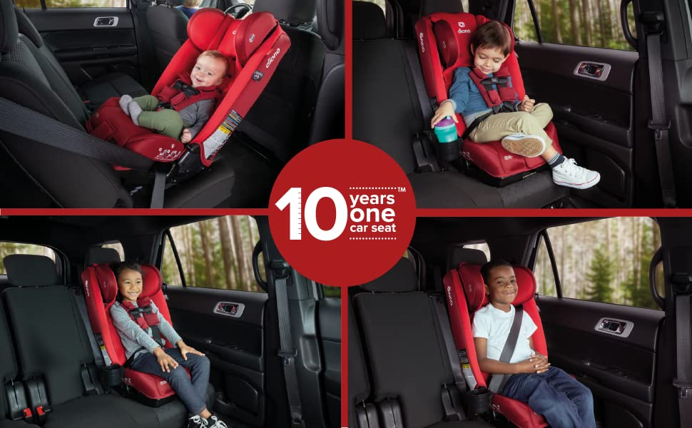 Diono Radian 3RXT 10 years one car seat - for rear and forward facing