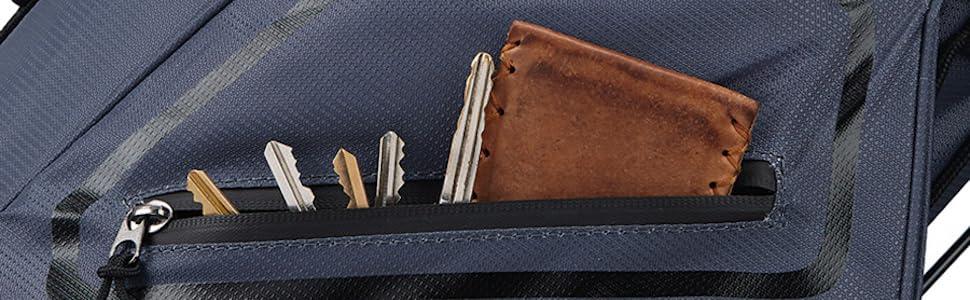 Taylormade 8.0 Bag Stand Easy Carry Keys wallet Walking lightweight waterproof pockets