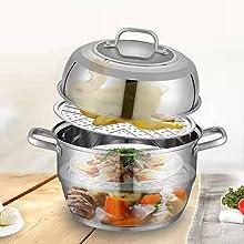 11'' Multi-Layer Cookware Pot