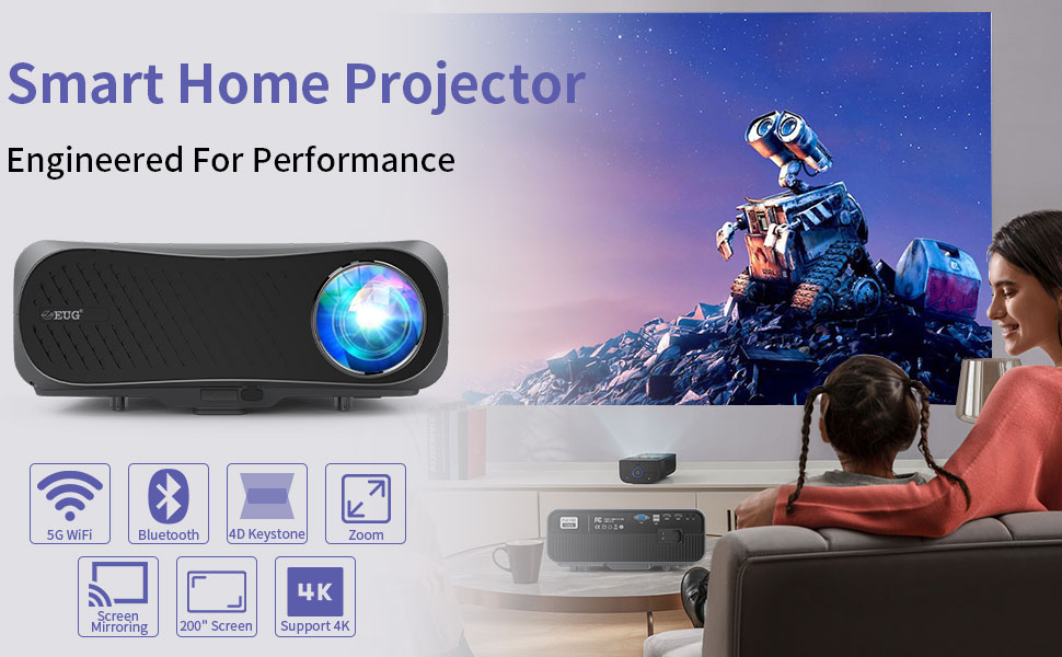 Full hd 1080 home projector