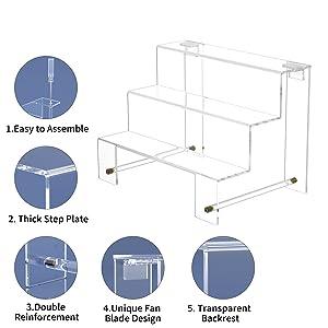 FEMELI Acrylic Display Riser