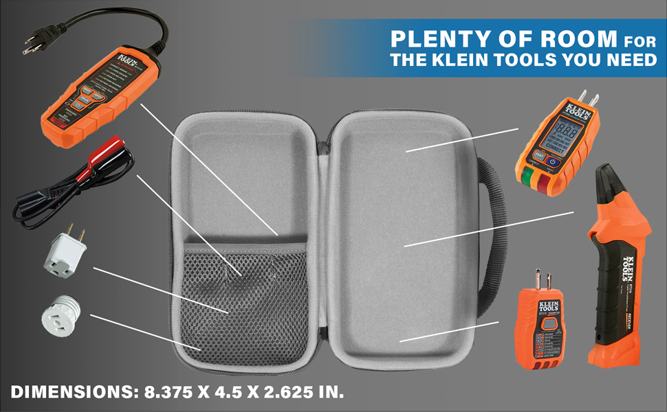 Case for KLEIN TOOLS and Accesories