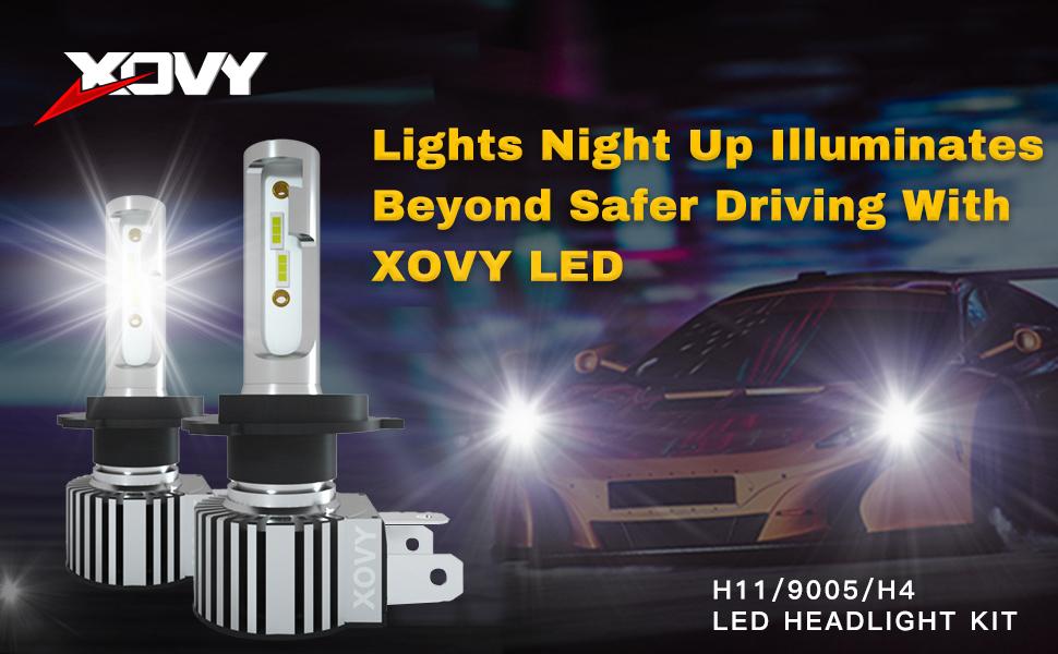 h4 led headlight bulb