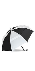 Repel Golf Umbrella Black and White