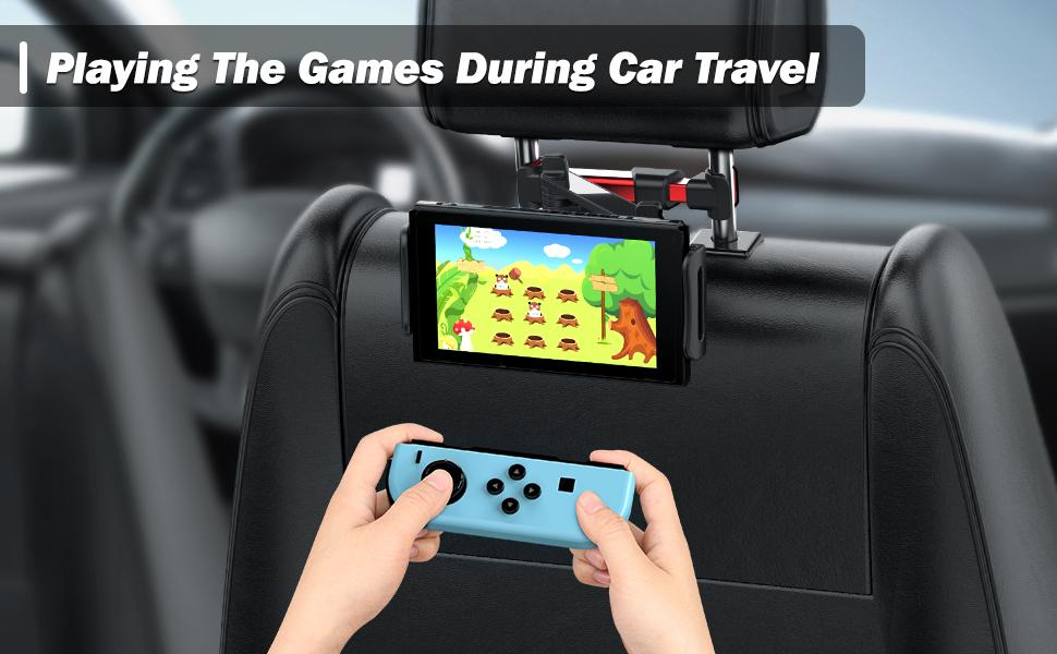 Playing The Games During Car Travel