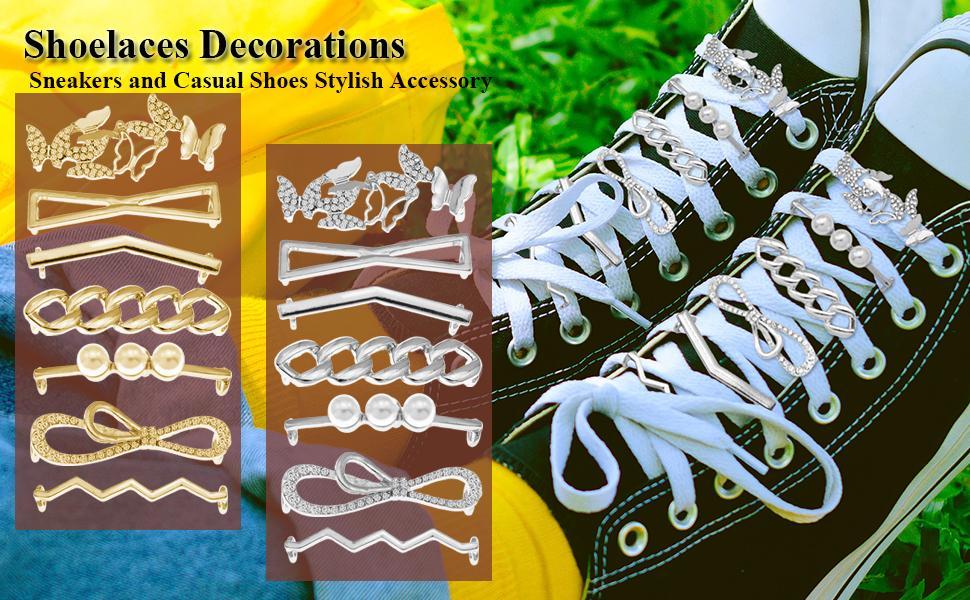 Shoe lace Decoration