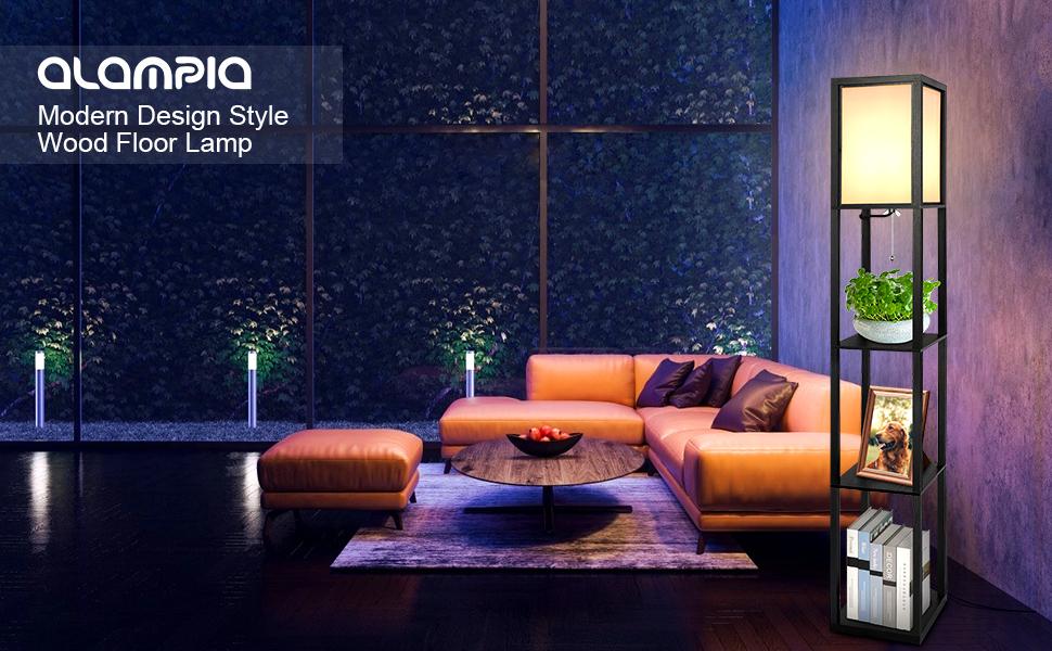Stehleuchte modern im minimalistischen Stil