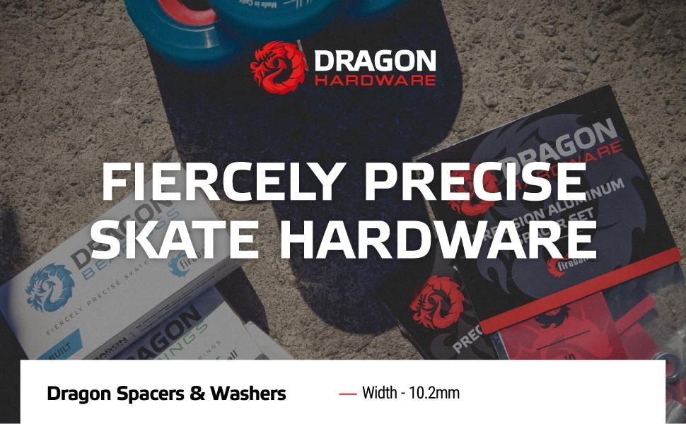 Fiercely Precise Skateboard Hardware