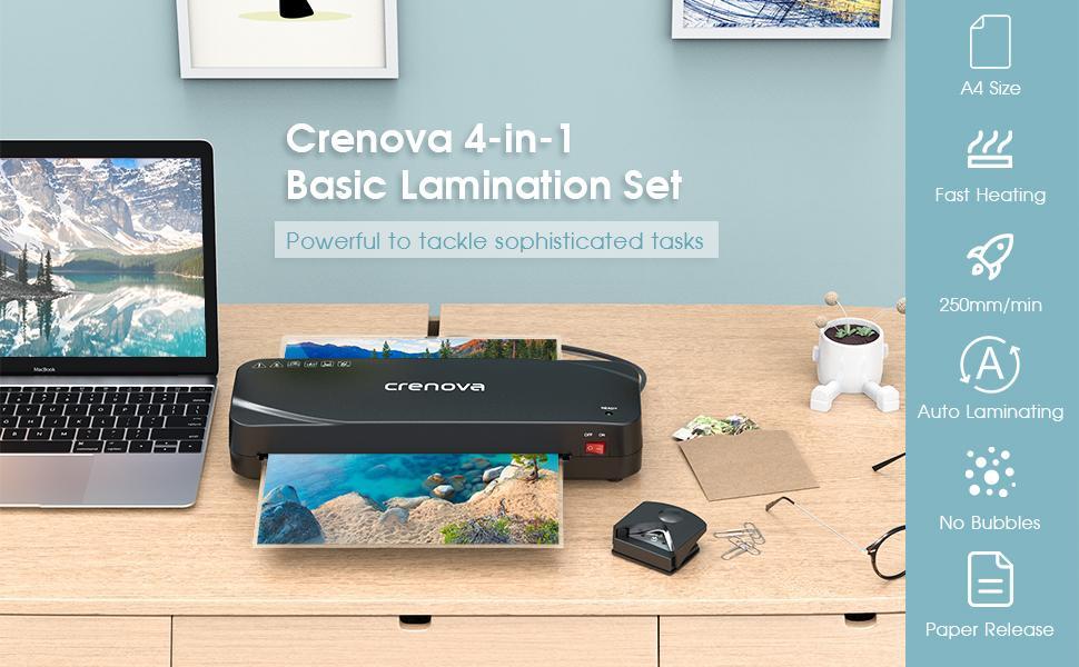 Crenova 4-in-1 laminator