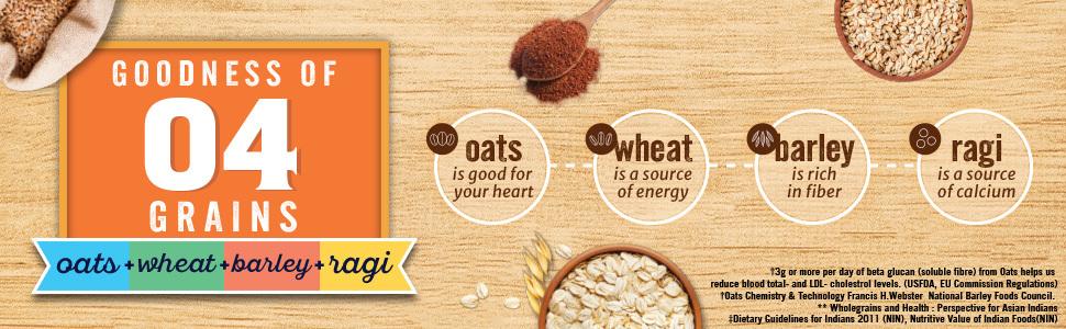 Quaker Multigrain oats