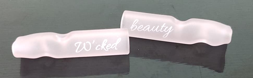 Cute Pink Girly Glass Filter Tips