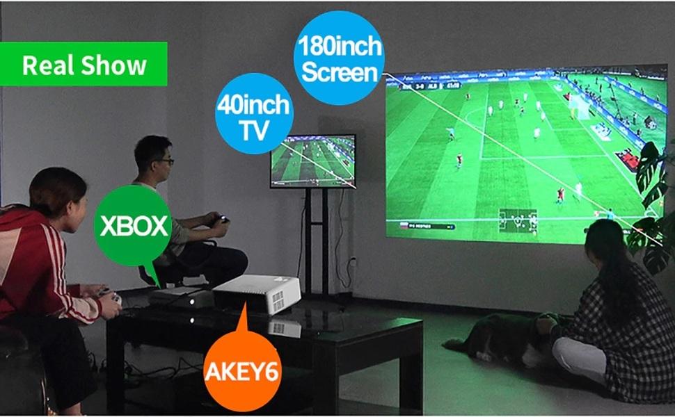 akey6 projector a