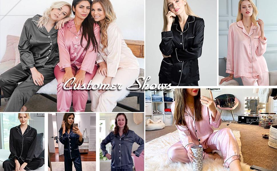 Eilshoji Silk Pajamas for Women