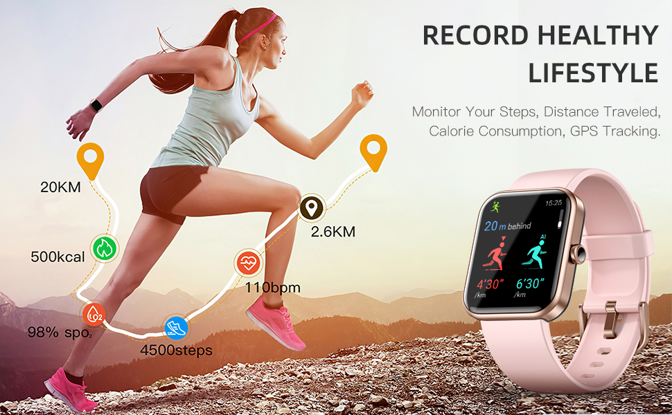 monitor your heart rate, count steps