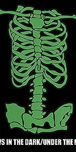 Women Skeleton T-shirt,Halloween costumes