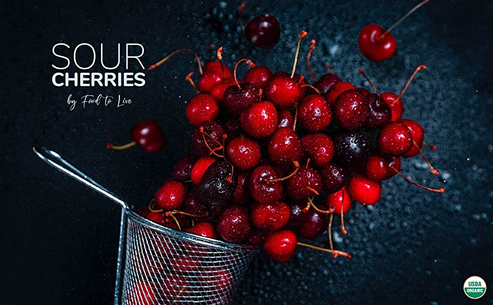sour cherries organic food to live