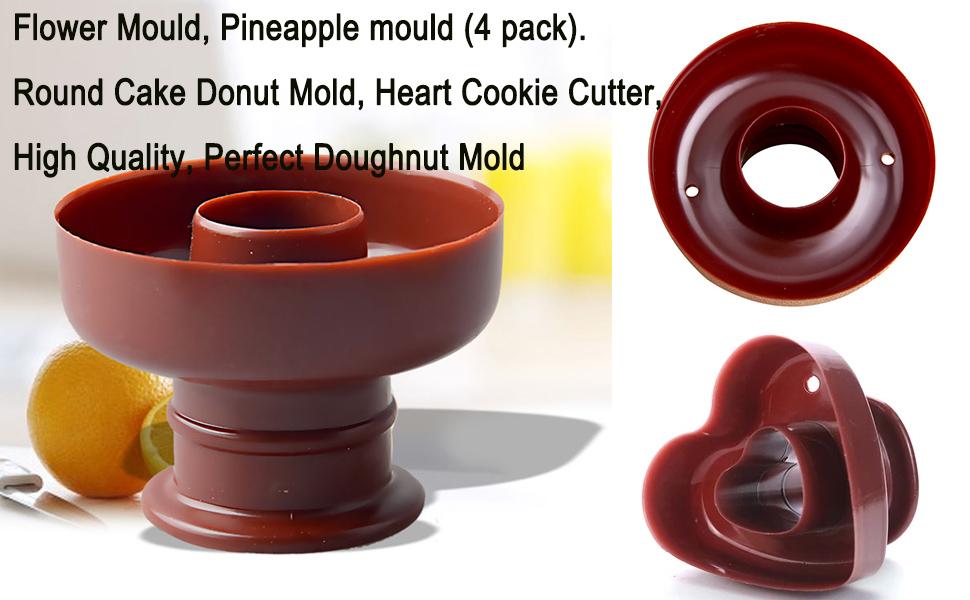 Donut Heart Cookie Cutter