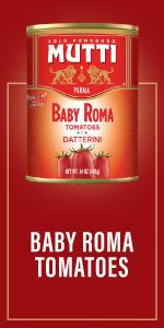 baby roma tomatoes