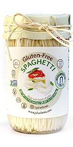 Juliaamp;amp;amp;amp;amp;amp;#39;s Farms Gluten-Free Spaguetti Jar