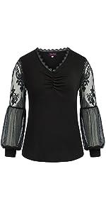 Puff Long Sleeve Steampunk Shirt