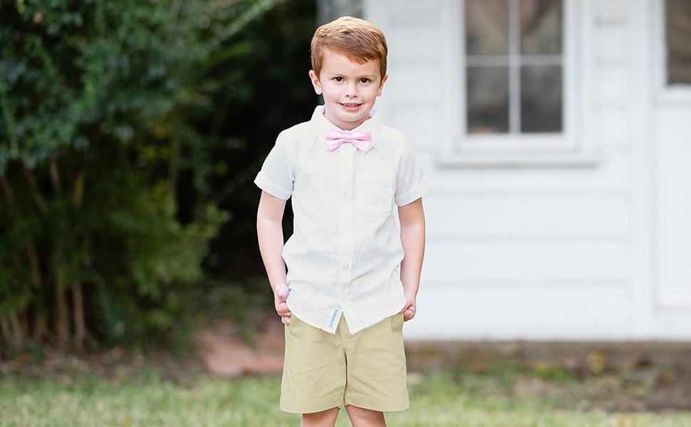 White Dobby Button Down Shirt   RuggedButts