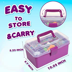 art kit easy to store and carry