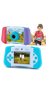 Kids camera with mp3