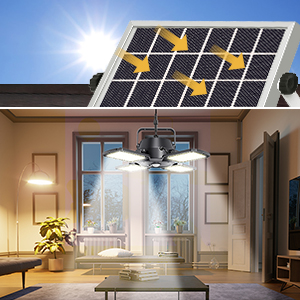 Separate design of our solar shed light