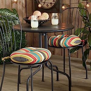 plush bistro chair cushions