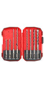 8 Pcs SDS Hammer Drill Set