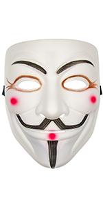 V for Vendetta Mask (White)