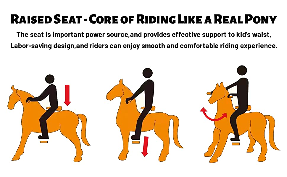 ride on horse