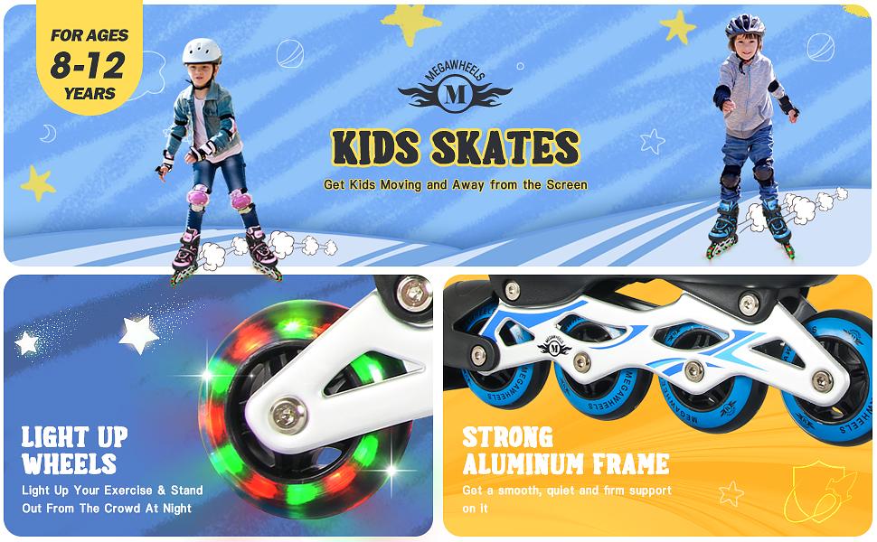 girls inline skates adjustable