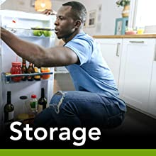 storage fridge dishwasher freezer micro wave