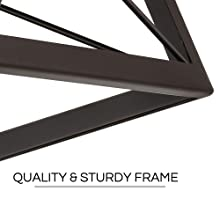 flush mount ceiling light- solid made frame