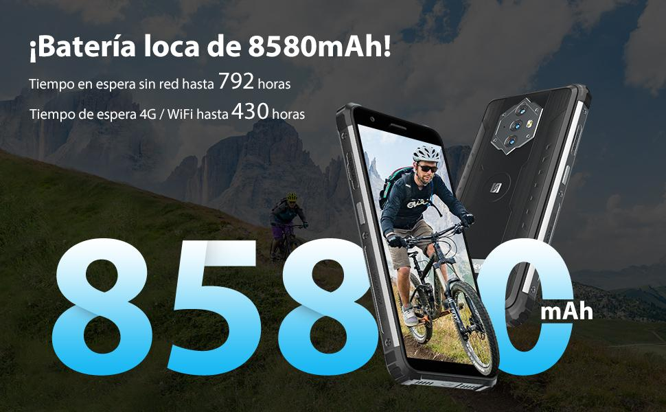Teléfono Resistente Inteligente 4G Blackview 6600