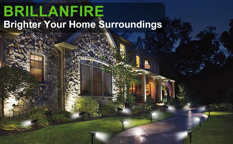 solar spotlight Brighter your home