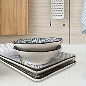 ceramic sushi set