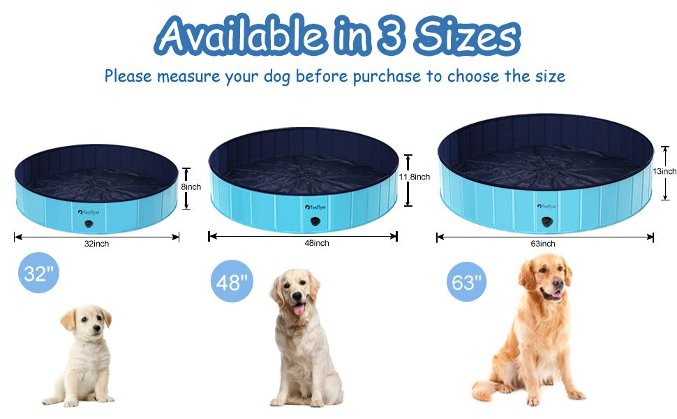 Backyard Pools for Small to Large Dogs