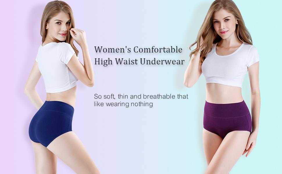 women 's high waist underwear
