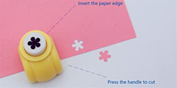 Paper Punch Shapes  Flower,Punch for Paper Crafting Scrapbooking.