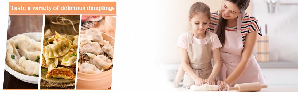 dumpling maker footer