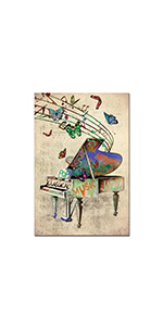 RyounoArt Music painting canvas