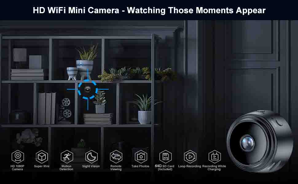 cameras with audio and video