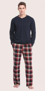 Men Long Pajama Sets