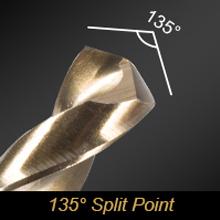 135 degree Split Point