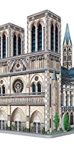 Wrebbit 3D Notre Dame de Paris 3D jigsaw puzzle