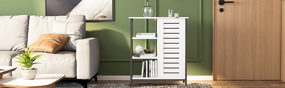 side storage cabinet
