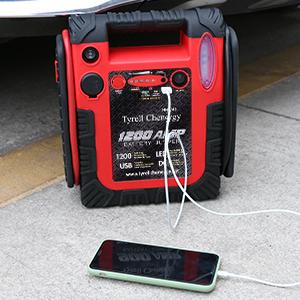 car battery charger jump starter 12v battery portable starter booster box starter box for vehicle3